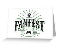 Xbox E3 2016 FanFest Greeting Card