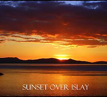 Sunset  over Islay by Alexander Mcrobbie-Munro