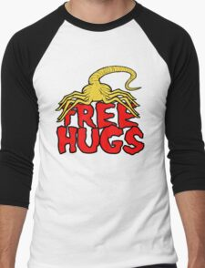 Free Face Hugs Men's Baseball ¾ T-Shirt