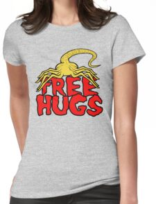 Free Face Hugs Womens Fitted T-Shirt
