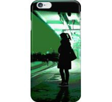 Chiswick Station, Green iPhone Case/Skin