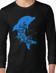Thankful Dolphin Long Sleeve T-Shirt