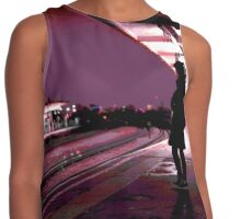Chiswick Station Girl, Purple Contrast Tank