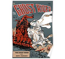 Ghost Rider Comic Cover Poster