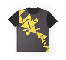 Triangle Chain reversed Graphic T-Shirt