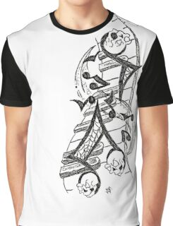 SKULLNOTEZ Graphic T-Shirt