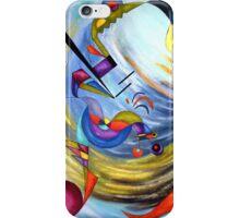 WIND - Acrylic painting iPhone Case/Skin