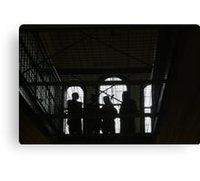 Mannequins at Adelaide Gaol Canvas Print