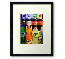 Thirsty? Framed Print