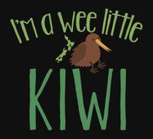 I'm a WEE little kiwi with cute little kiwi bird Kids Clothes