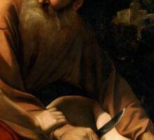 Caravaggio Abraham & Isaac Sticker