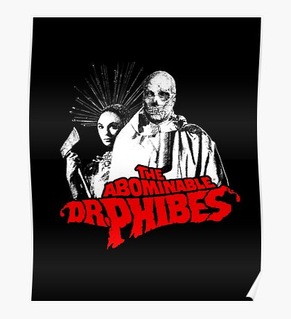 The Abominable Dr.Phibes Poster
