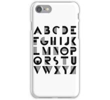 Deco Alphabet iPhone Case/Skin