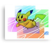 Springing Pikachu Canvas Print
