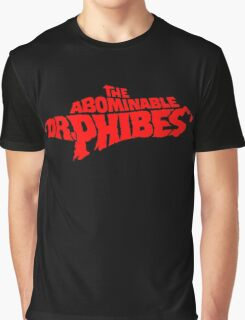 The Abominable Dr.Phibes Graphic T-Shirt