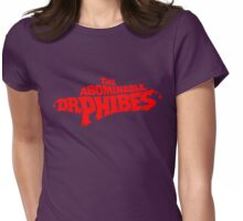 The Abominable Dr.Phibes Womens Fitted T-Shirt