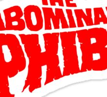 The Abominable Dr.Phibes Sticker