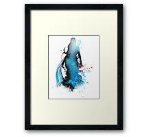 The Blue Siren Framed Print