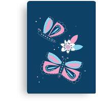 Flutter, flutter butterfly. Canvas Print