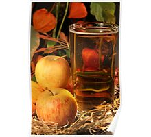 Glass of Cider Poster
