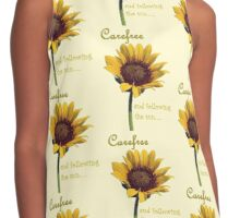 Carefree and Following the Sun Contrast Tank