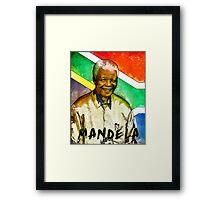Nelson Mandela 2 Framed Print