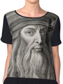 Leonardo da Vinci Chiffon Top