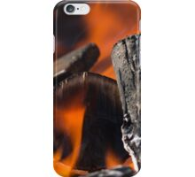 fire in the forest iPhone Case/Skin