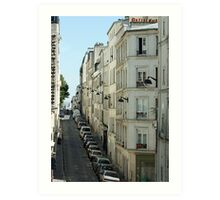 Paris Streetscape Art Print