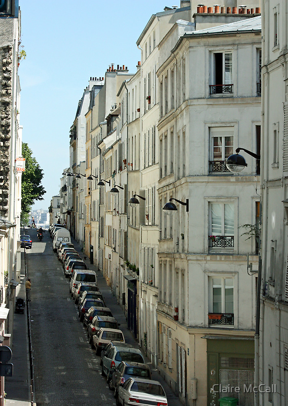 Paris Streetscape by Claire McCall