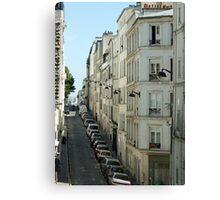 Paris Streetscape Canvas Print