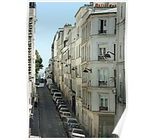 Paris Streetscape Poster