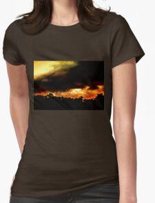Closing of the Sunset Womens Fitted T-Shirt