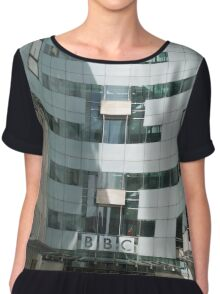 The BBC At Home in London Chiffon Top