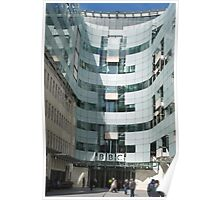 The BBC At Home in London Poster