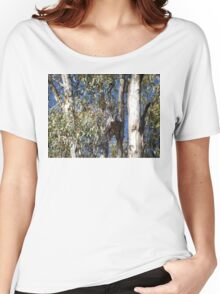 Owls in Camouflage Women's Relaxed Fit T-Shirt