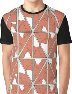 Triangle foxes Graphic T-Shirt
