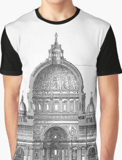 St. Peter Basilica - Rome, Italy Graphic T-Shirt