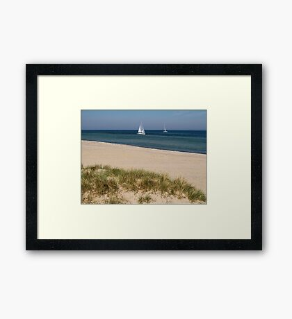 Calm Baltic Sea Framed Print