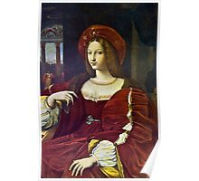 Joanna of Aragon by Raphael Poster