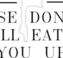 Where The Wild Things Are // I'll Eat You Up // 2 Sticker