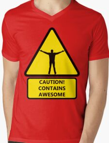 Caution, contains awesome T-Shirt