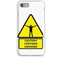 Caution, contains awesome iPhone Case/Skin