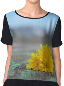 Lonely Flower Chiffon Top