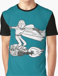 SAITAMA AND GENOS Graphic T-Shirt