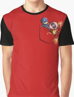 Pocket War Graphic T-Shirt
