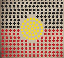 Aboriginal flag by Nxolab