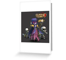 WITCH COC Greeting Card