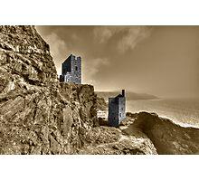 Crown Tin Mines  Photographic Print