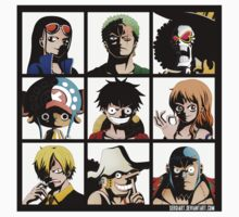 Straw hats crew by shadow66